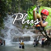 dunns river falls and zipline