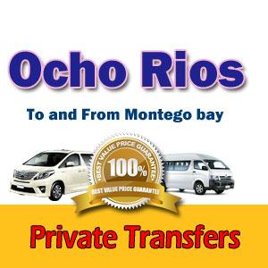 Airport transfers to Ocho Rios