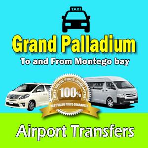 Grand Palladium airport transfers